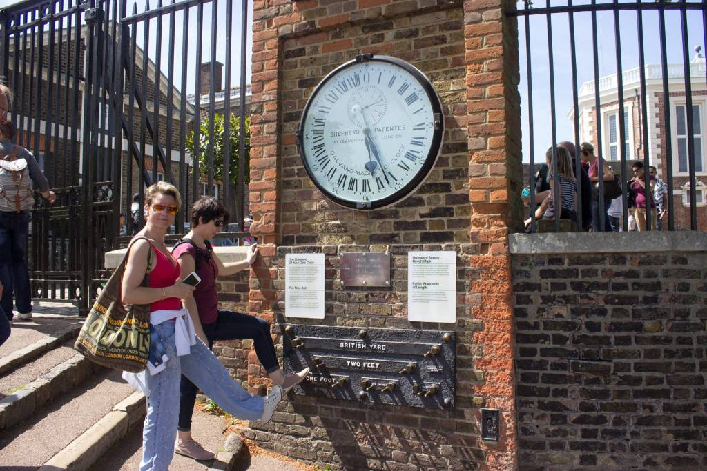 Greenwich Meridian Center Point Of The World