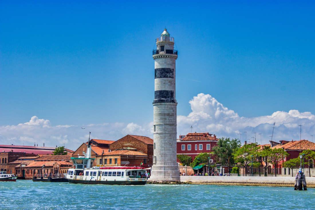Prístav na ostrove Murano