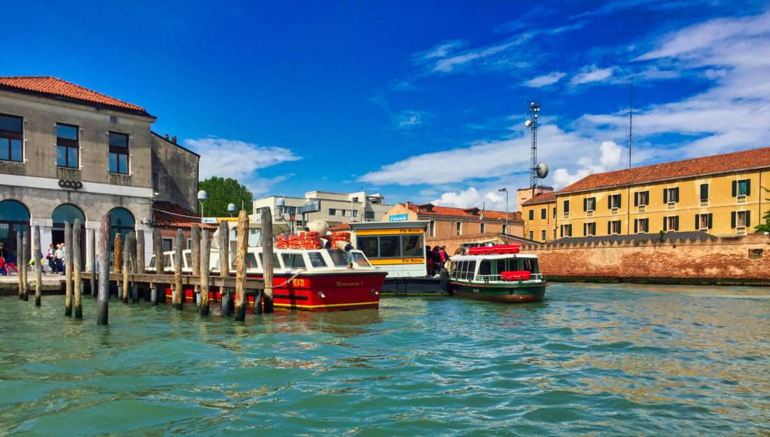 Preprava v Benátkach