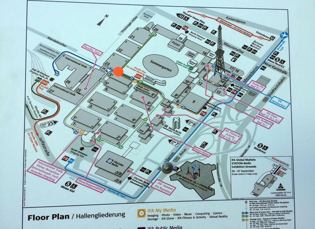 IFA map