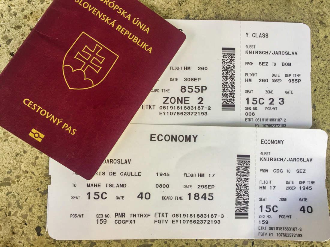 Letenky na Seychelly