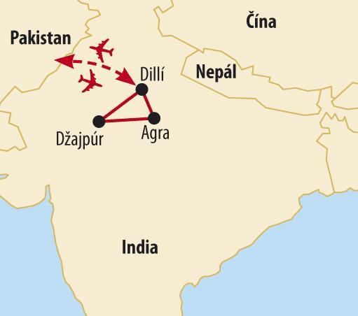 Zlatý trojuholník India