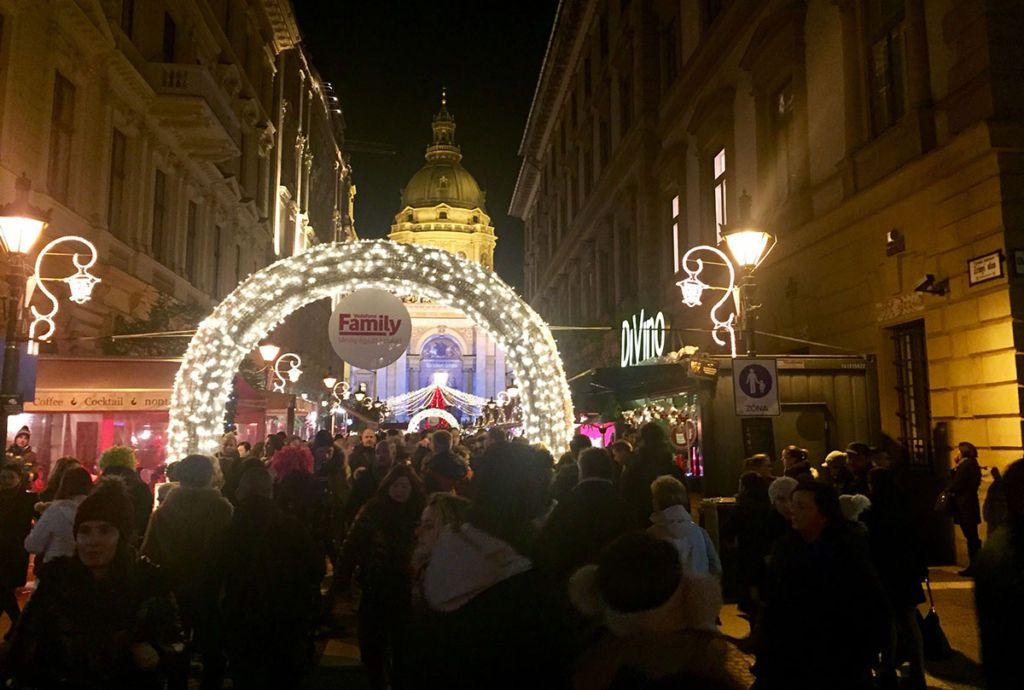 Budapešť vianočné trhy