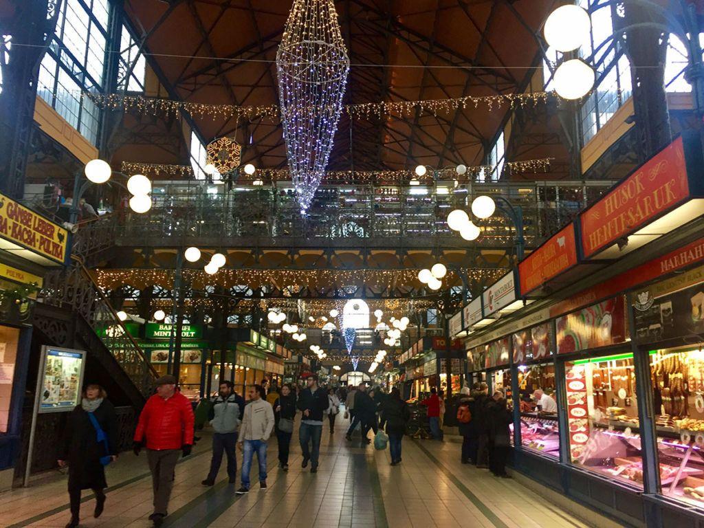 Veľká tržnica Budapešť