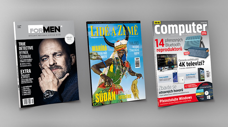 Časopisy zadarmo