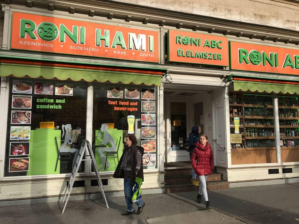 Roni Hami, Budapest