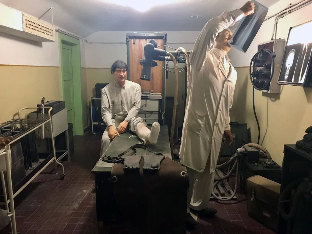 Nemocnica v podzemí, Budapešť