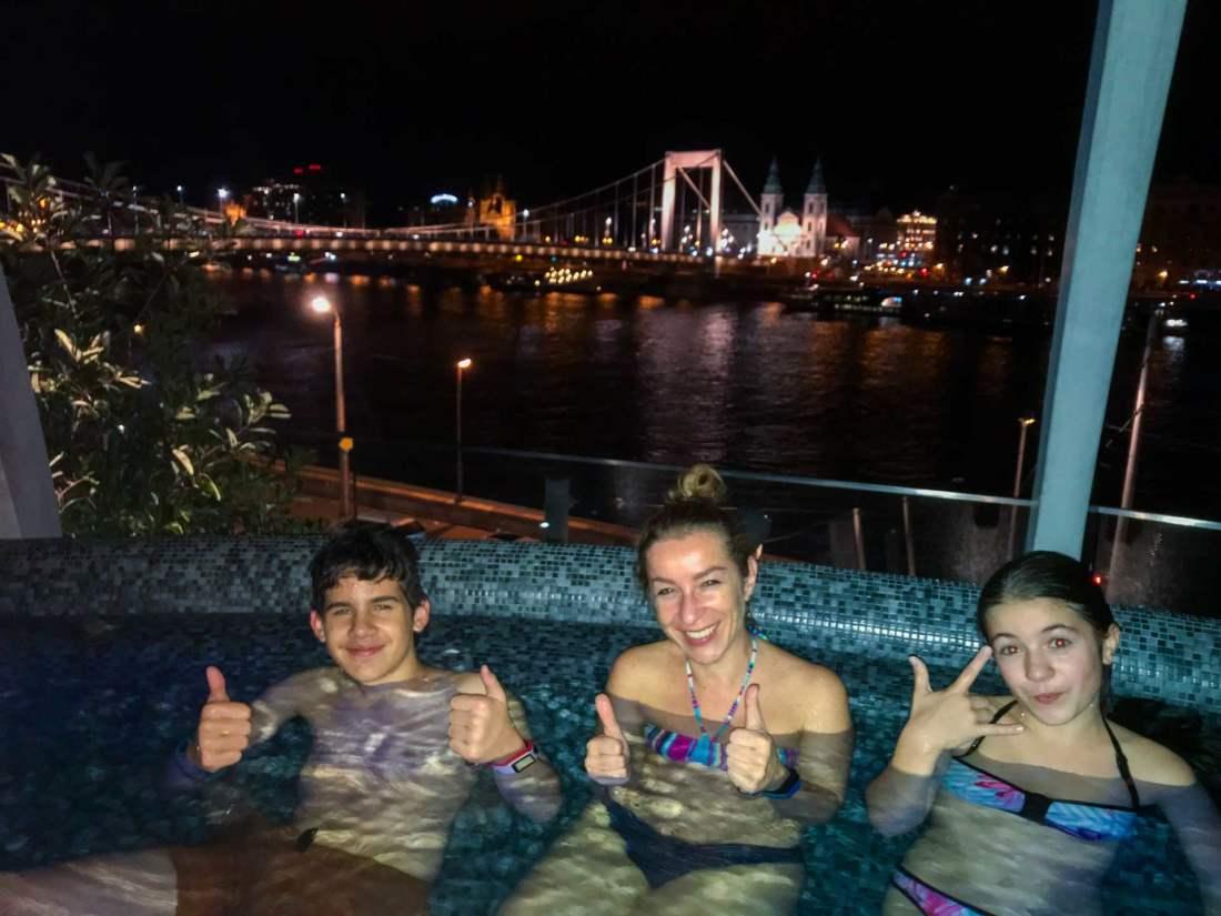 Rudas bath units, Budapest