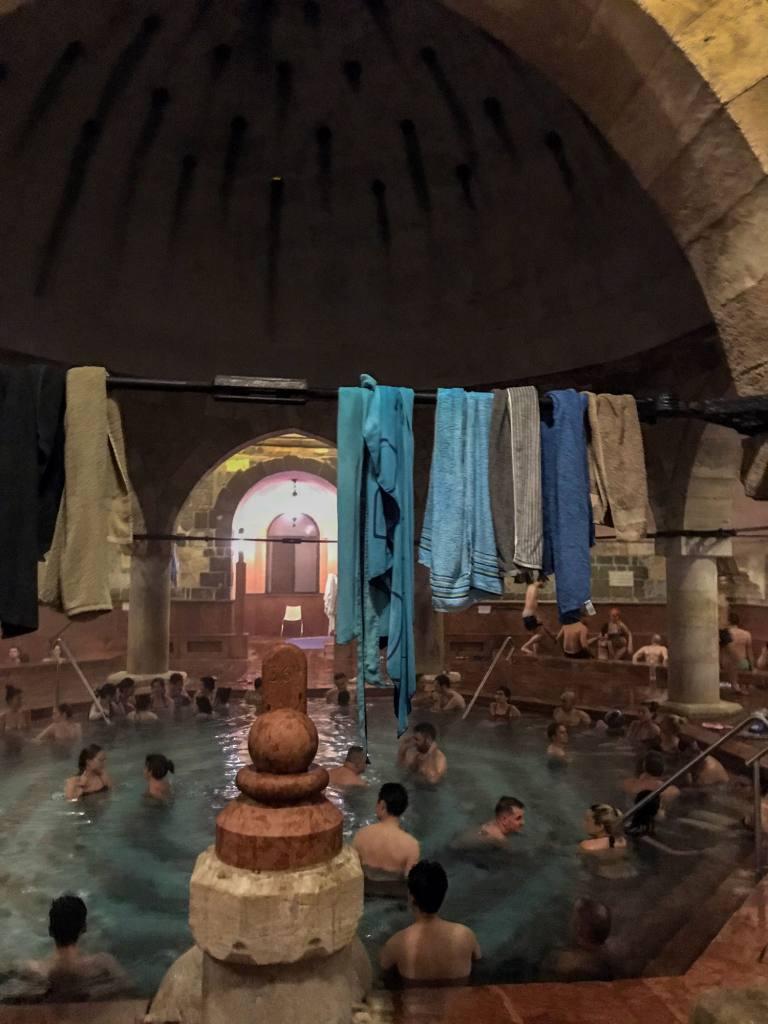 Kúpele Rudas, Budapešť