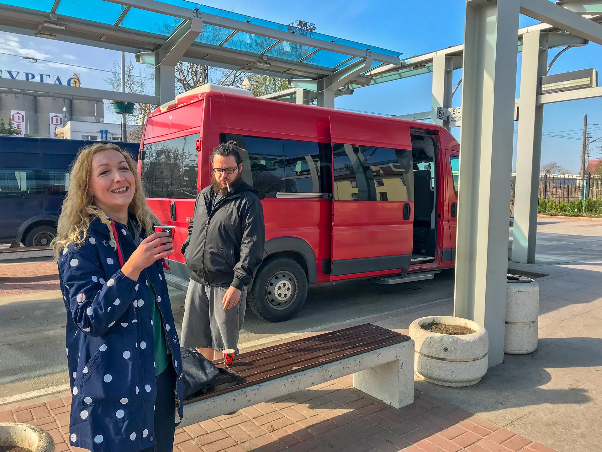 Bus to Sozopol