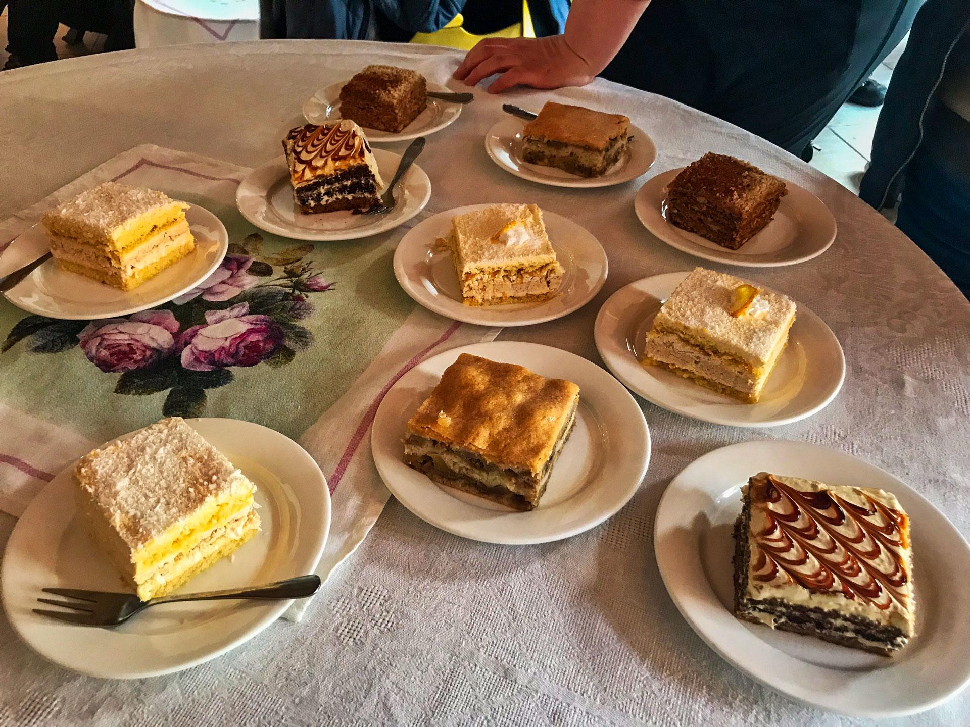 Kate's Cakes, Mestia, Georgia