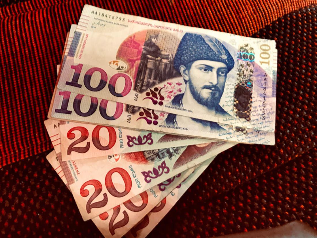 Gruzínske peniaze