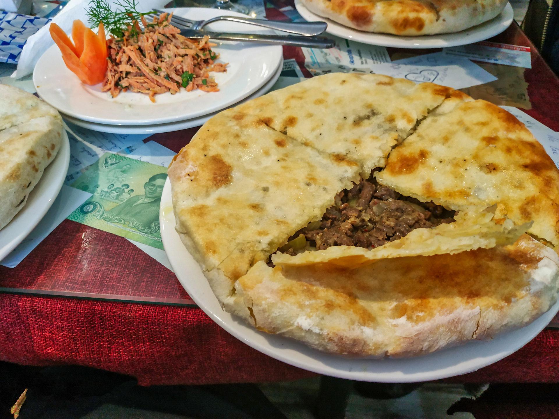 Reštaurácia v Mestii, Gruzínsko