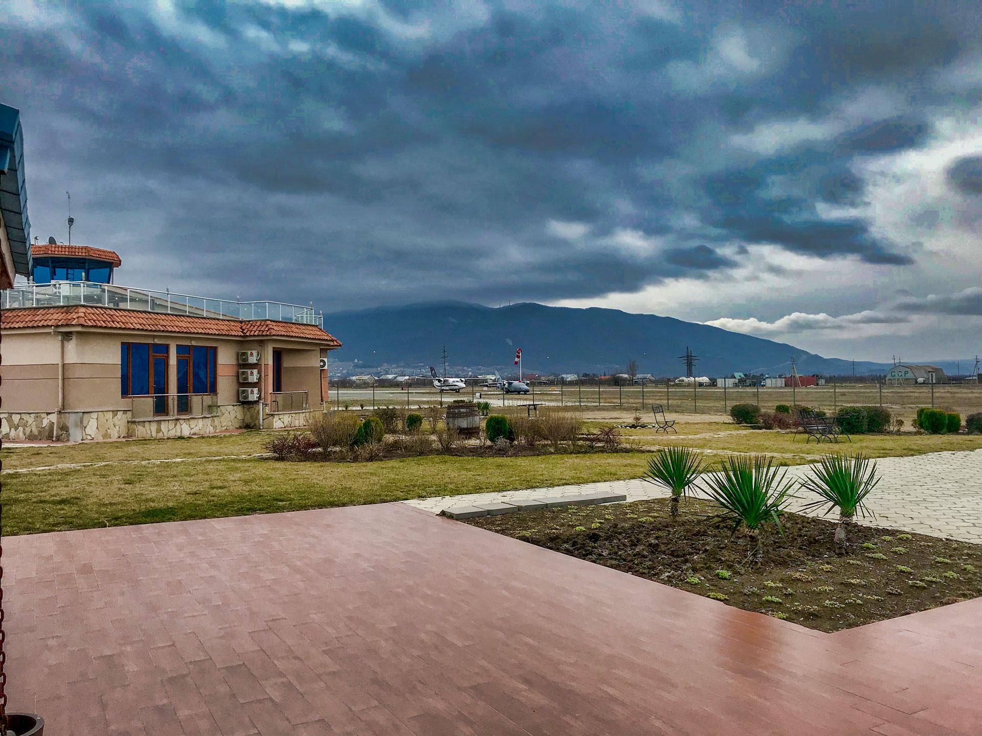 Letisko, Natakhtari, Gruzínsko