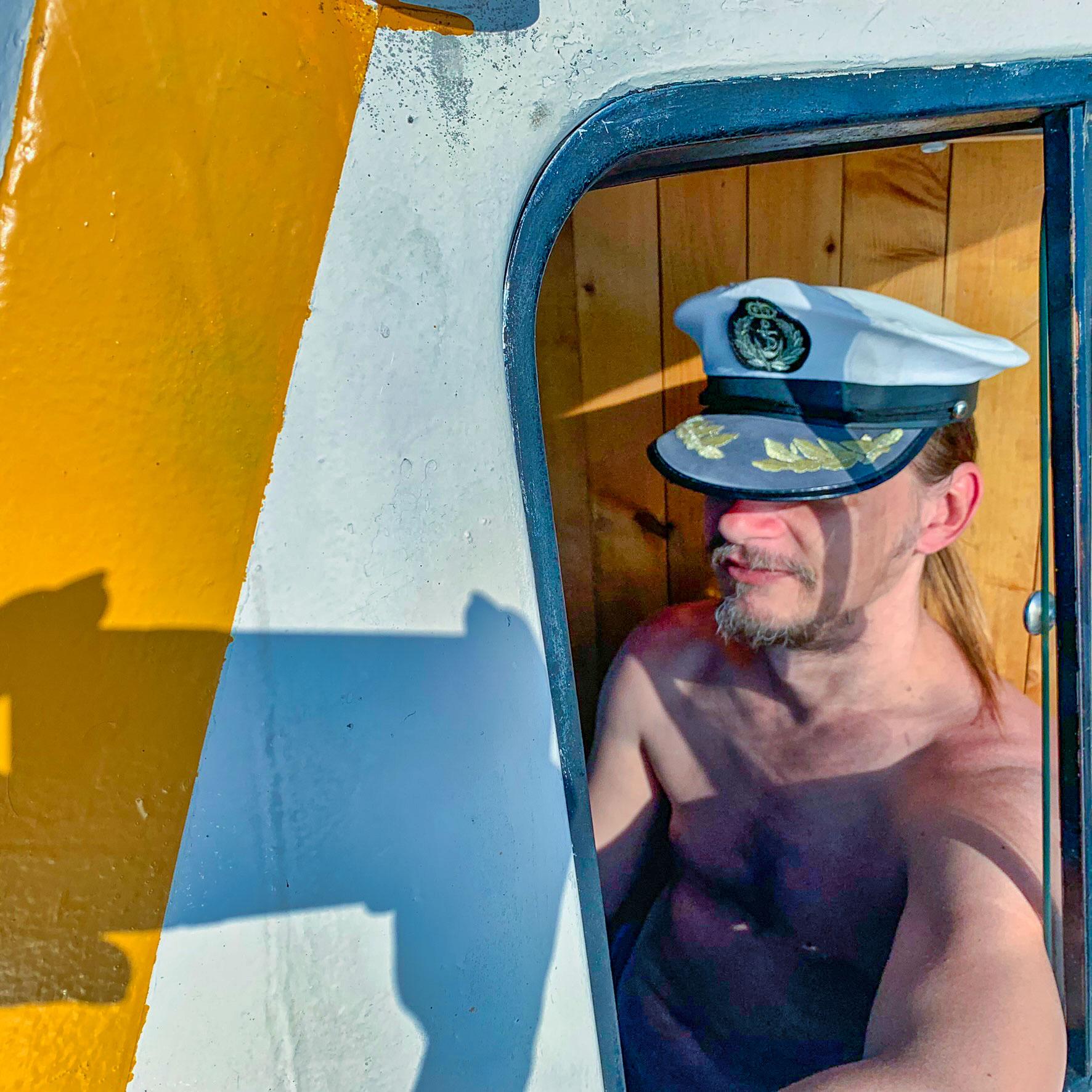 Kapitánom na lodi
