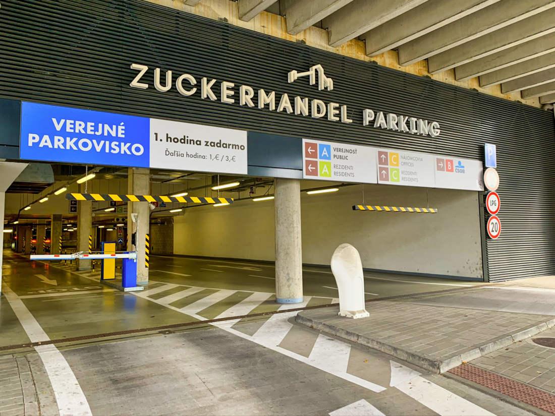 Parkovanie River park