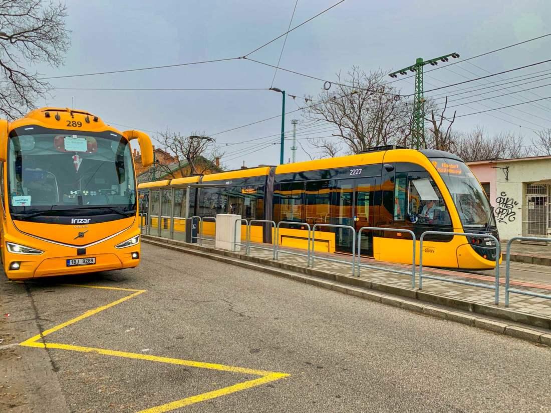 Autobus, Budapešť