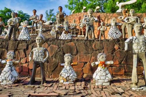 Kamenná záhrada Neka Chanda