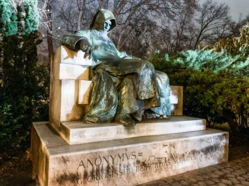 Statue Anonymvs