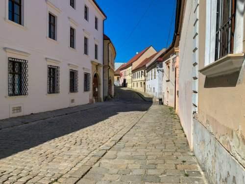 Romantická ulica v centre
