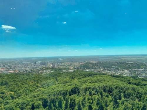 Výhľad z Kamzíka