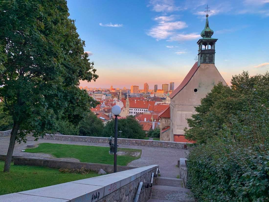 Výhľad na Bratislavu