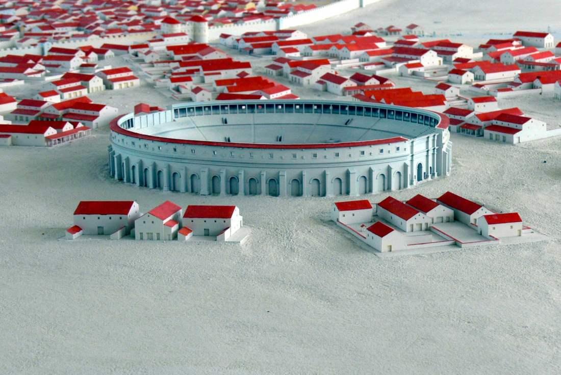 model amfiteátrra