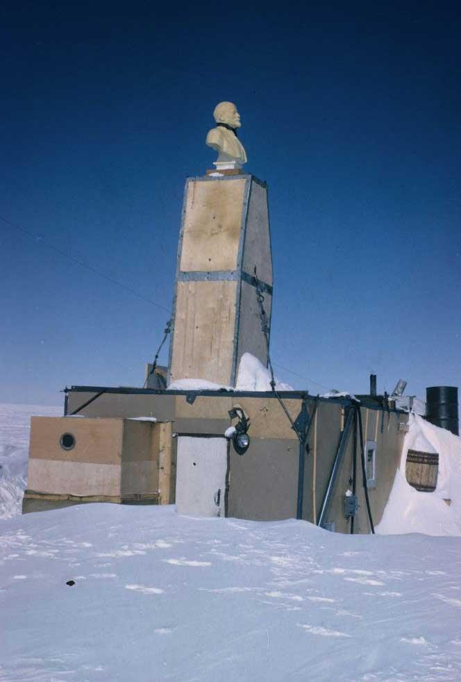 Lenin na južnom póle