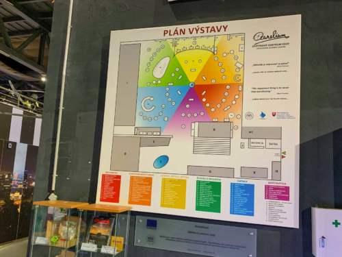 Plán výstavy Aurelium