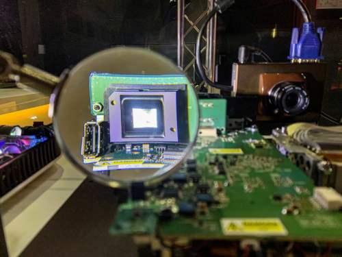 Snímač digitálneho fotoaparátu