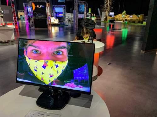Prenos obrazu cez IR